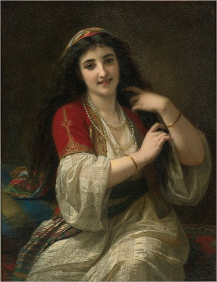 A Turkish Beauty Hugues Merle - 1868