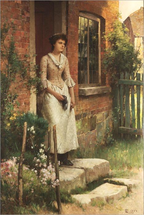 Alfred Augustus Glendening (1861-1907) - Expectation, 1893