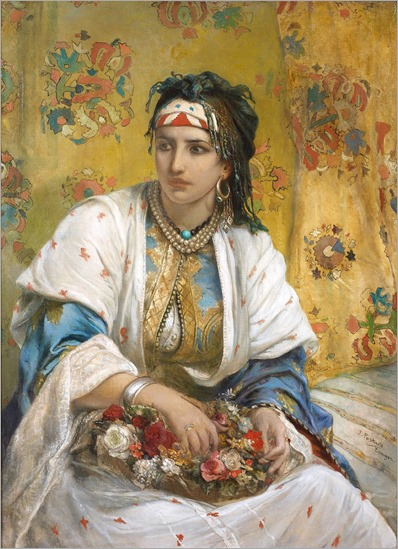 An Oriental Beauty - Jean-François Portaels