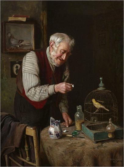 Charles_Spencelayh_A_favourite