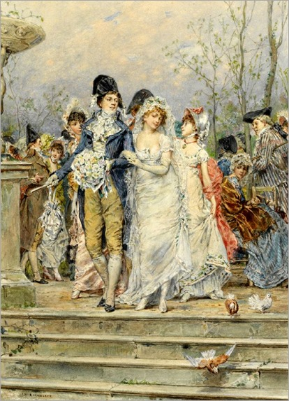 Frederik hendrik Kaemmerer-The Revolutionist's Bride
