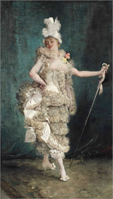 Georges-Jules-Victor Clairin (1843 - 1919) - Frou frou, 1882