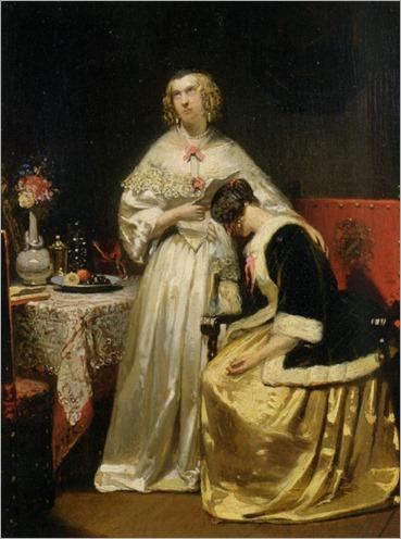 Hendrik_Hollander(1823-1884)-News_From_Far_1849