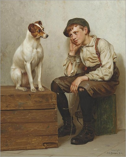 John_George_Brown_-_Mutual_Admiration