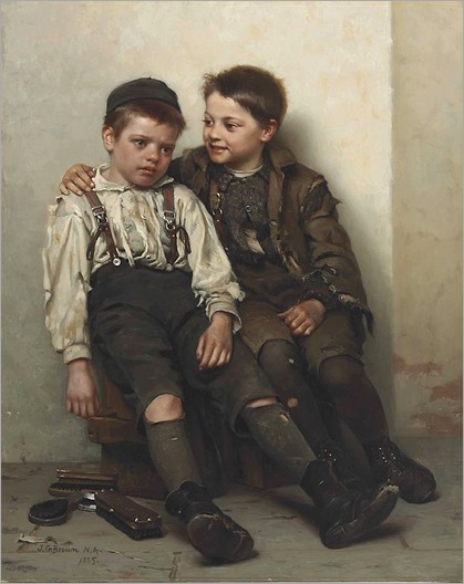 John_George_Brown_-_Sympathy_(1885)