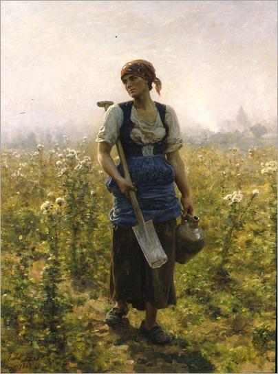 jules breton-le-matin 1888