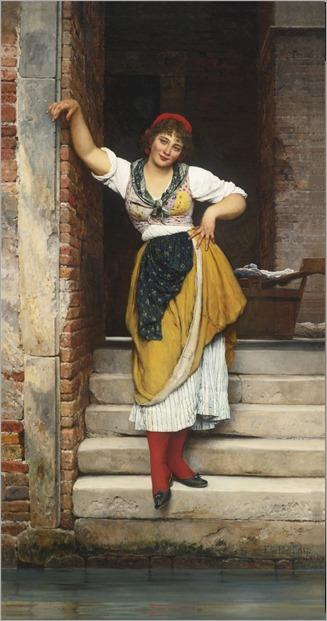 Ninetta - Eugene de Blaas