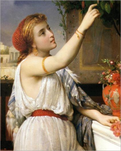 Pierre Olivier Joseph Coomans (belgian, 1816-1889)-Fuchsias(1868)_768x964