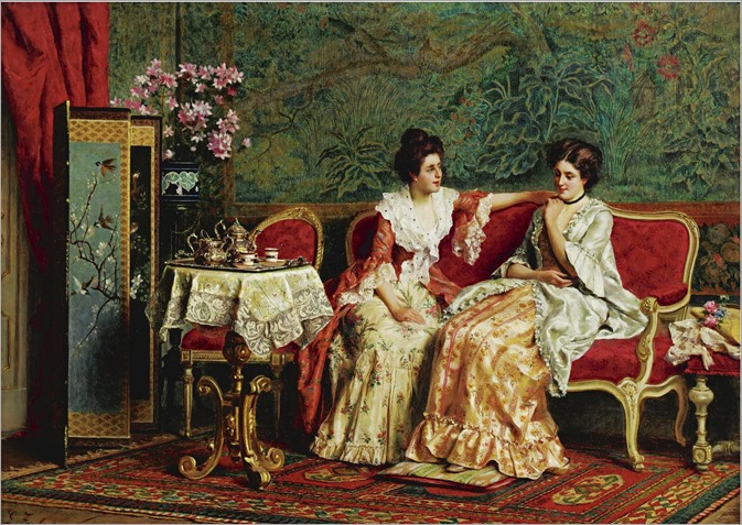 Tea Time-Guglielmo-Zocchi