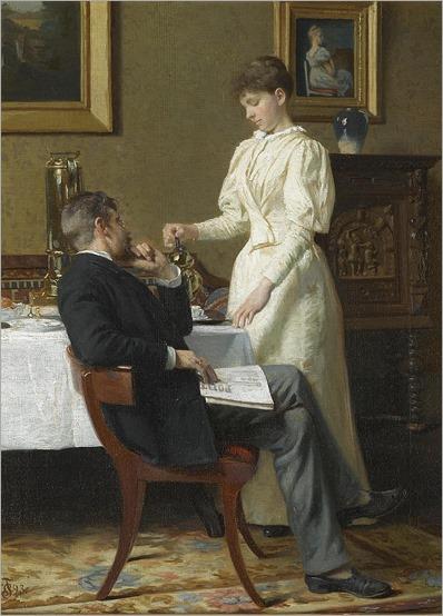 the honeymoon_Carl Christian Frederik Jakob Thomsen (danish, 1847-1912)