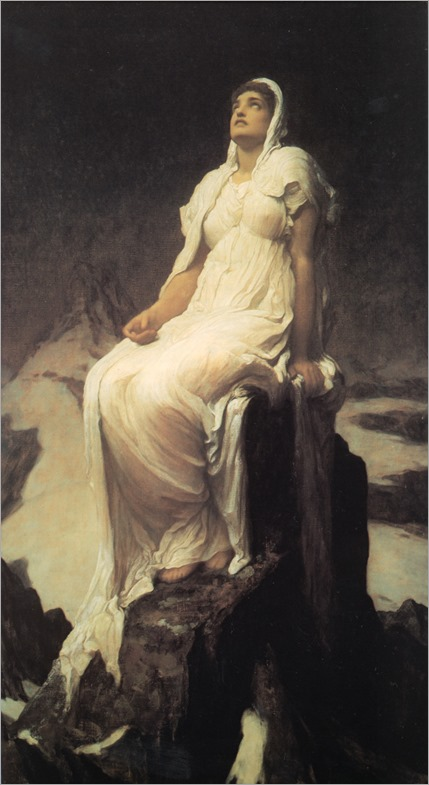 The Spirit of the Summit- Lord Frederic Leighton 1894