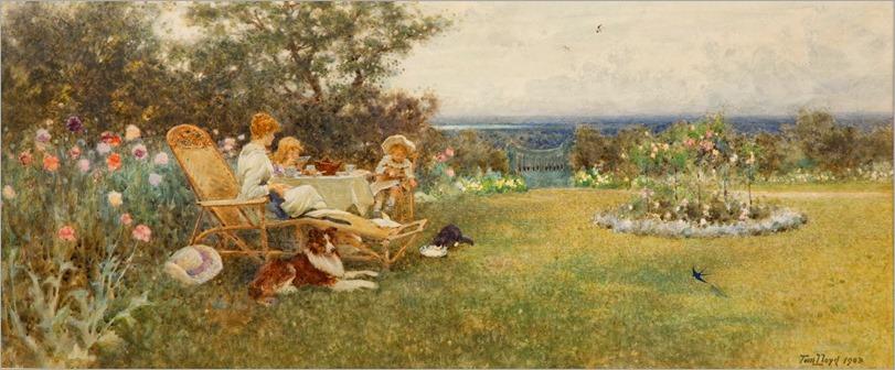 Thomas James Lloyd - Afternoon Tea 1903