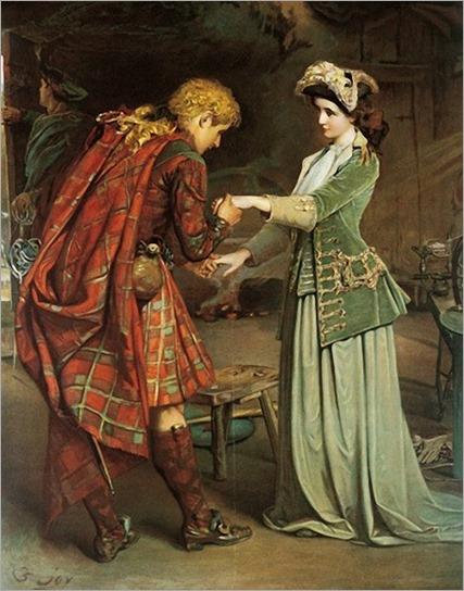 William Joy _Flora MacDonalds Farewell to Bonnie Prince Charlie
