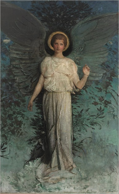 Winged Figure (The Angel) by Abbott Handerson Thayer