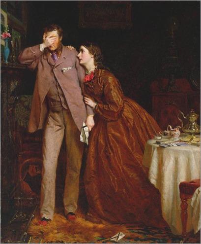 Woman's Mission - Companion of Manhood (1863). George Elgar Hicks (English, 1824–1914)