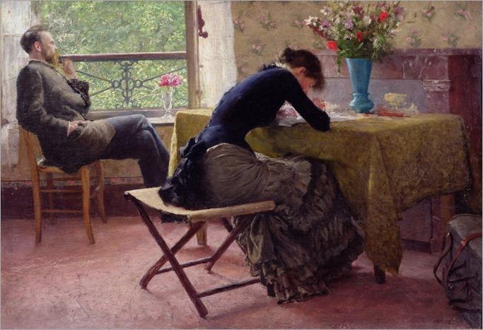 You and I - 1884 - Erik Werenskiold (norwegian painter)