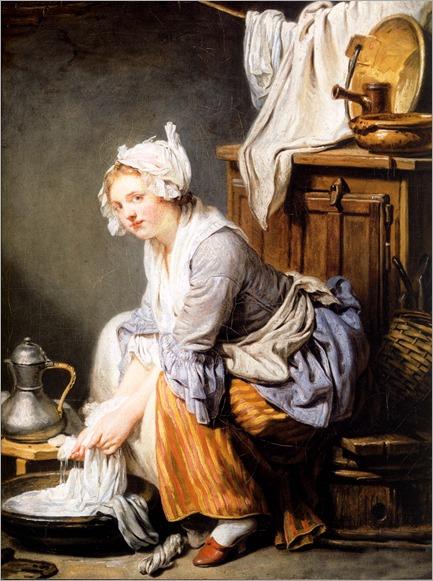 ]1761 jean-baptiste greuze, la blanchisseuse