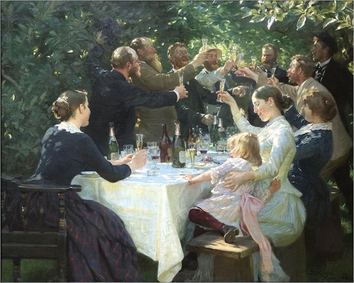 1888 -Hipp_hipp_hurra!_Konstnärsfest_på_Skagen_-_Peder_Severin_Krøyer