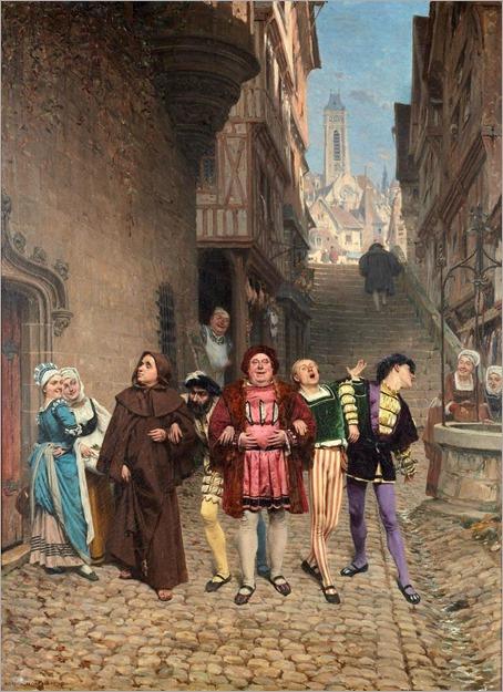 2.ADRIEN MOREAU (french, 1843-1906)