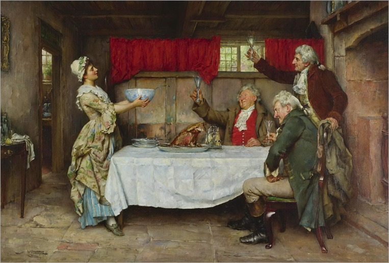 a toast to the chef_William Arthur Breakspeare - Date unknown