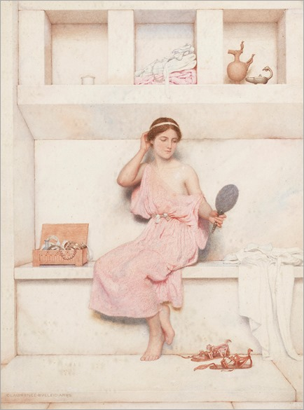 An olympian dreamer - George Lawrence Bulleid (British, 1858-1933)
