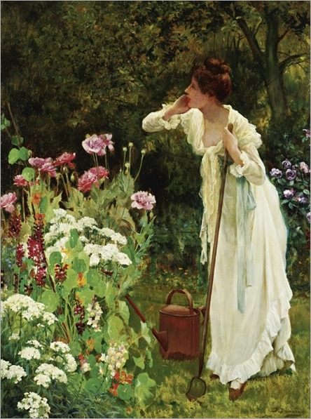 Delapoer Downing fl. 1885-1902 - IN THE FULLNESS OF SUMMER by Sothebys