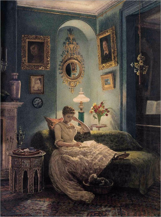 edward-poynter-evening-at-home