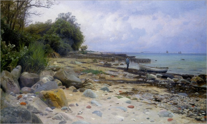Monsted_Peder_Looking_out_to_Sea_1919_