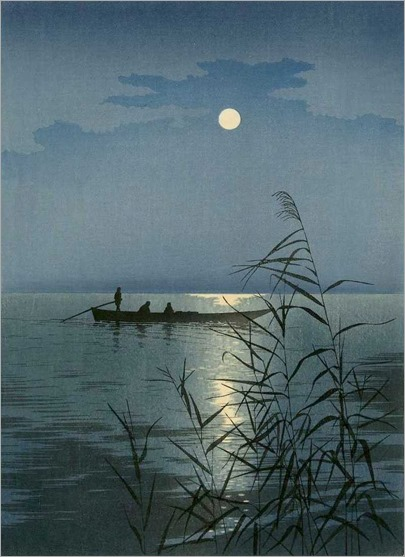 Moonlit Sea - 1920 - Koho Shoda (japanese painter)