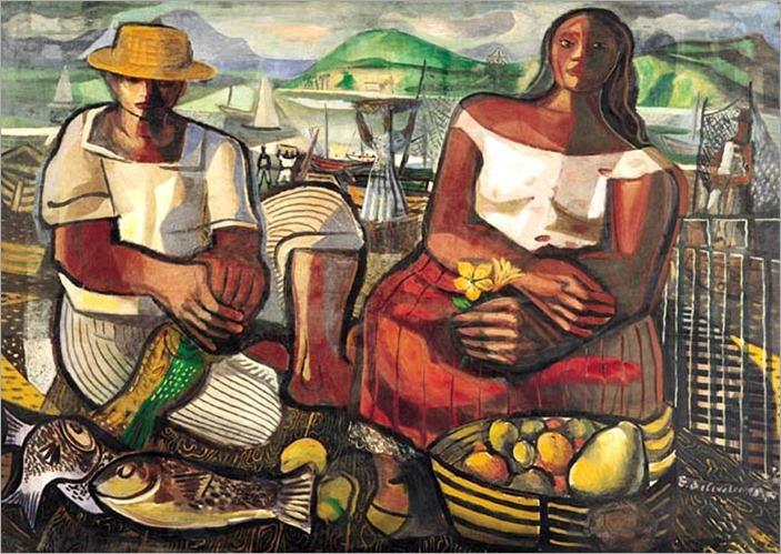 os pescadores-1951-Di Cavalcanti