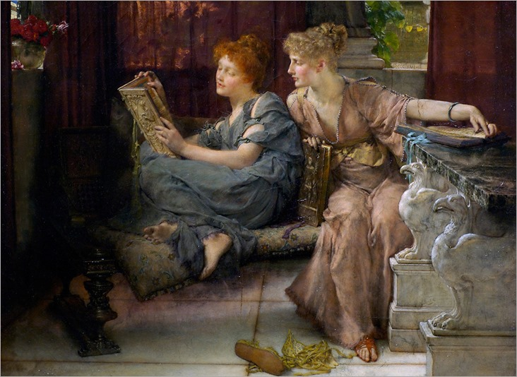 Sir Lawrence Alma-Tadema _Comparisons_ 1892