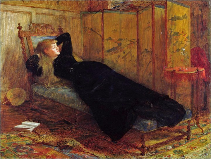 Sir William Quiller Orchardson (scottish, 1832-1910- Dolce Far Niente 1872