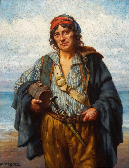 the fisherman_William Arthur Breakspeare - Date unknown