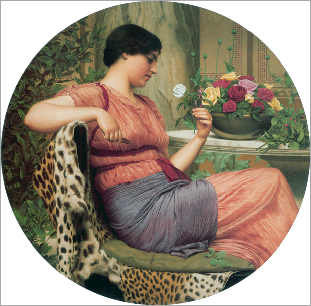 the time of roses_Godward
