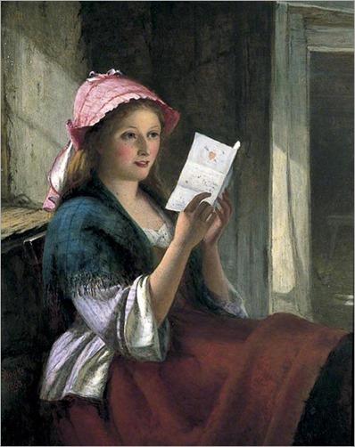 The Valentine (1863). Thomas Brooks (British,1818–1892)