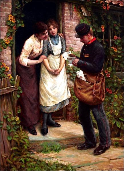 Thomas Liddall Armitage - The Postman