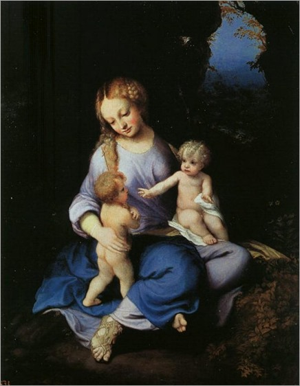 130504_Correggio_Madonna And Child With The Young Saint John