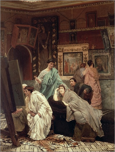 a-collector-of-pictures-at-the-time-of-augustus-sir-lawrence-alma-tadema