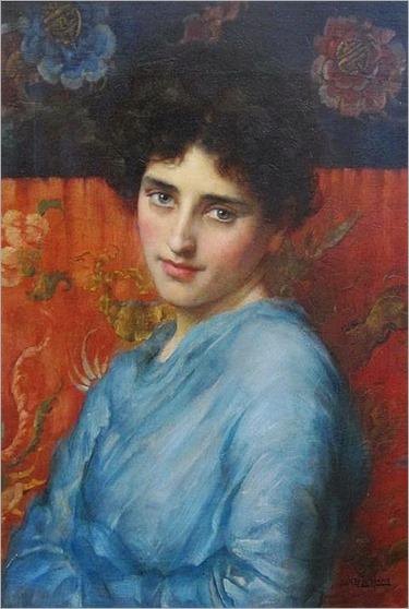 a dark beauty_William Arthur Breakspeare - Date unknown