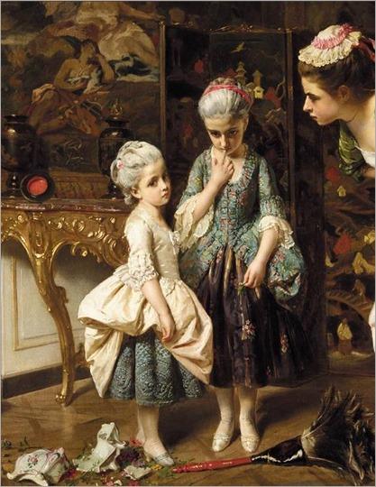 CE N'EST PAS MOI-1872-Henri Guillaume Schlesinger (french, 1814-1893)