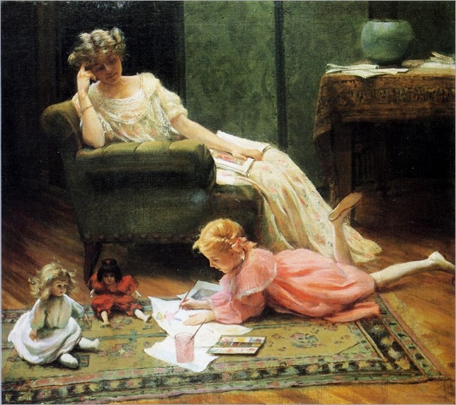 charles-courtney-curran-eua-1861-1942-dollys-portrait-1909