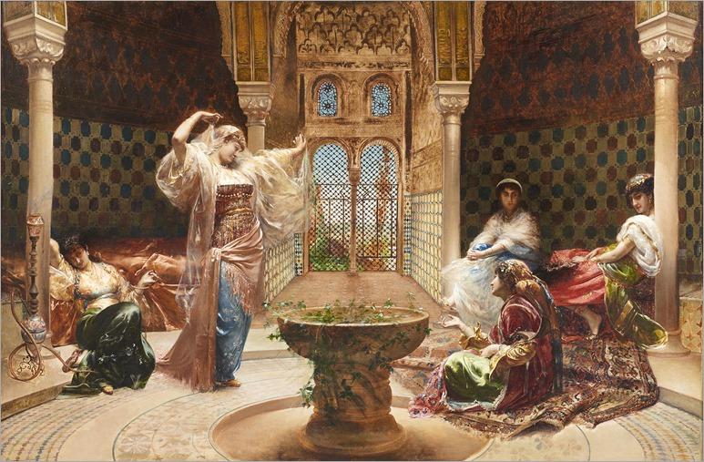 Edouard-Richter_La-Dance-au-Harem