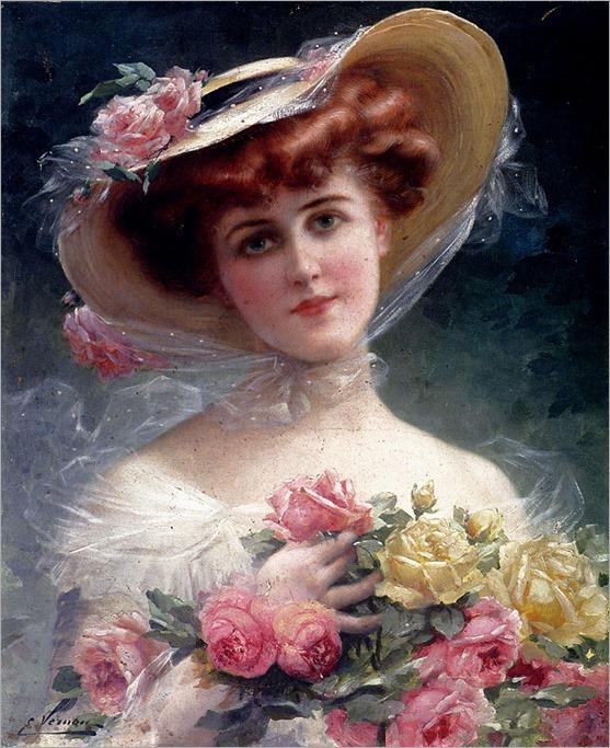 EmileVernon_la_belle_aux_fleurs