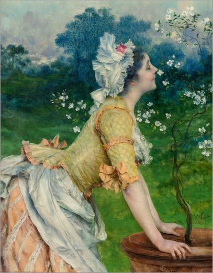 FRANCESCO VINEA (Italian, 1845-1902). Spring in Florence