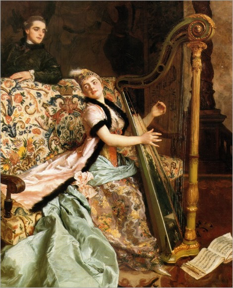 Gustave Jean Jacquet (french, 1846-1909)- The melody