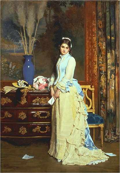 indecision-Charles Baugniet
