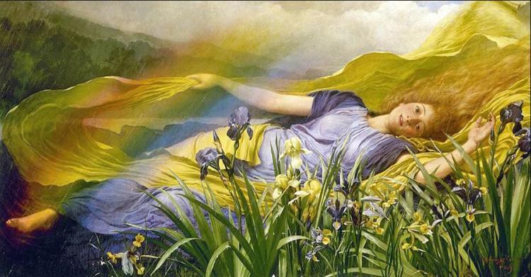 Iris, by William Savage Cooper