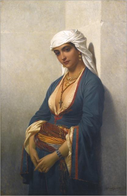 la fidèle by EMILE CHARLES LECOMTE-VERNET