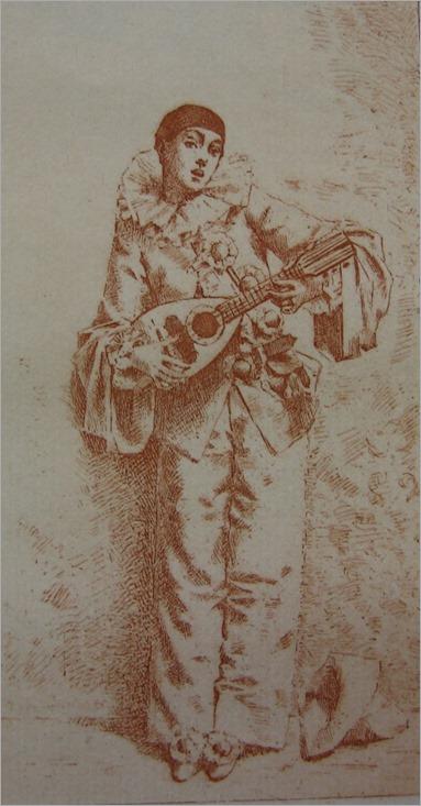 Léon Comerre (1850-1916), Les triolets de Colombine