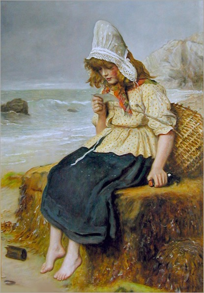 message-from-the-sea-John Everett Millais